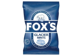 Foxs Fox's (200g) Glacier Mints Wrapped Boiled Sweets (Ref 0401065)