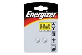 Energizer LR44/A76 Button Cell Battery Pack of 2