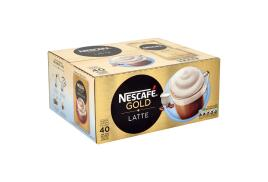 Nescafe Gold Latte Instant Coffee Sachets (Pack of 40)