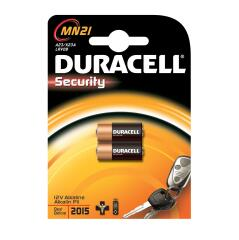Duracell Security Battery Alkaline 1.2V for Camera Calculator or Pager Pack of 2 MN21 Image