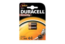 Duracell Security Battery Alkaline 1.2V for Camera Calculator or Pager Pack of 2 MN21