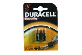 Duracell Security Battery 1.5V Alkaline for Camera Calculator or Pager Pack of 2 MN9100N