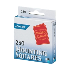 5 Star Office Photo Mounting Squares 17mm x 12mm Double Sided Adhesive (White) Pack of 250 Image