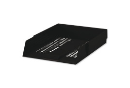 5 Star Office (Foolscap) Letter Tray High-impact Polystyrene (Black)
