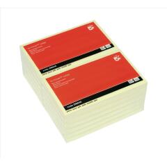 5 Star Office Re-Move Notes Repositionable Pad of 100 Sheets 76x127mm (Yellow) Pack of 12 Image