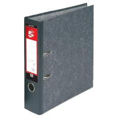 5 Star Office (Foolscap) Lever Arch File 70mm (Cloudy Grey) Pack of 10 Image
