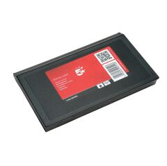 5 Star Office Stamp Pad 158x90mm Black Image