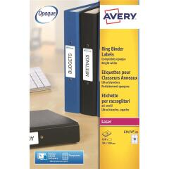 Avery L7172-25 (100x30mm) Filing Labels (Pack of 450 Labels) for Ring Binders Image
