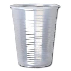 Unbranded Cold Drink 7oz Non Vending Machine (Clear) Cup (Pack of 100) Image