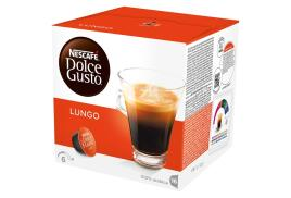 Nescafe Dolce Gusto Caffe Lungo Coffee (3 x Packs Making 48 Drinks)