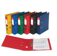 5 Star Office (A4) Lever Arch File Polypropylene Capacity 70mm (Red) Pack of 10 Image