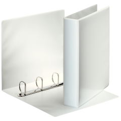 Esselte Essentials (A4) Presentation Binder 4 D Ring 40mm (White) Image