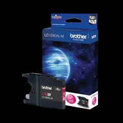 Brother LC1280XLM (Yield: 1,200 Pages) Magenta Ink Cartridge Image