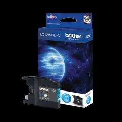 Brother LC1280XLC (Yield: 1,200 Pages) Cyan Ink Cartridge Image