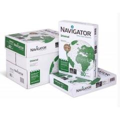 Navigator (A4) Universal Paper Multifunctional Ream-Wrapped 80gsm White [5 x 500 Sheets] Image