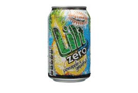 Lilt Zero Diet Soft Drink Can 330ml Pack of 24