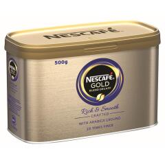 Nescafe Gold Blend (500g) Decaffeinated Instant Coffee Tin (1 x Pack) Image