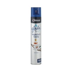 Glade (500ml) Vanilla and Magnolia Air Freshener Spray Can (Silver) Image