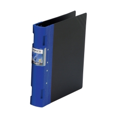 Guildhall GLX Ergogrip Binder Capacity 400 Sheets 4x 2 Prong 55mm A4 Blue (Pack 2) Image