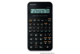 Sharp EL-501X Scientific Calculator Single Line LCD Display 131 Functions (Black)