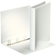 Esselte (A4) Presentation 4 Ring Binder 25mm (White) Image