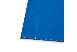 5 Star Office (A4) Folder Cut Flush Polypropylene Copy-safe Translucent 120 Micron Blue (Pack of 25)