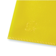 5 Star Office (A4) Folder Cut Flush Polypropylene Copy-safe Translucent 120 Micron Yellow (Pack 25) Image