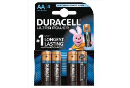 Duracell (AA) Ultra Power MX1500 Batteries 1.5V (1 x Pack of 4)