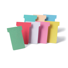 Nobo T-Cards Size 2 (Light Pink) Pack of 100 T-Cards - 32938904 Image