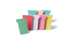 Nobo A110 T-Cards Size 4 (Light Pink) Pack of 100 T-Cards 32938927