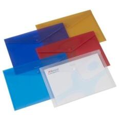 Rexel (A4) Popper Wallets (Assorted Colours) Pack of 5 Image