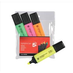 5 Star office Highlighters Assorted Pk4 Image
