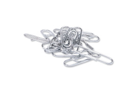 5 Star Office Paperclips Metal Large Length 33mm Lipped Plain [Pack 1000]