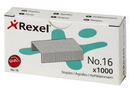 Rexel No.16 (6mm) Staples Ref 06121 (Pack 1000)