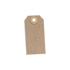 Unbranded Unstrung Tag (82mm x 41mm) Buff (1 x Pack of 1000) Image