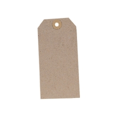 Unbranded Unstrung Tag (120mm x 60mm) Buff (1 x Pack of 1000) Image