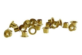 Rexel Circular Brass Eyelets (Copper-plated) 15-Sheet Capacity Pack of 500 Eyelets for Velos Eyeletter Punch