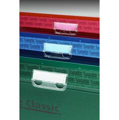 Rexel Crystalfile Printable Card Inserts Pack of 50 Tab Inserts) for Suspension Files Image