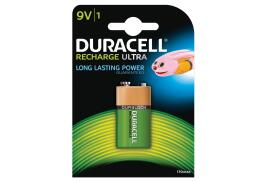Duracell Rechargeable 170mAH NiMH 9V Battery