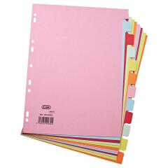 Elba (A4) Card Dividers Europunched 12-Part Assorted  Image