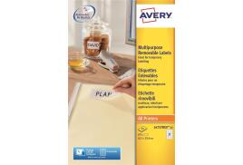 Avery Removable Labels