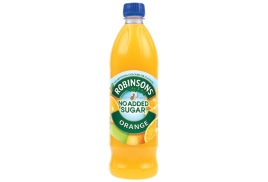 Robinsons Special R Squash (1 Litre) No Added Sugar Orange (Pack of 12)