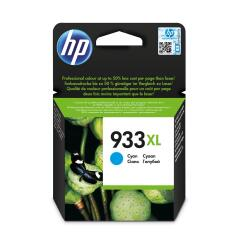 HP 933XL (Yield: 825 Pages) Cyan Ink Cartridge Image