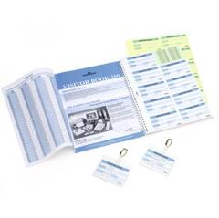 DURABLE Refill Visitors Book 300 (Refill of 300 Badges Inserts)  Image