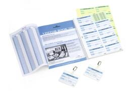 DURABLE Refill Visitors Book 300 (Refill of 300 Badges Inserts)