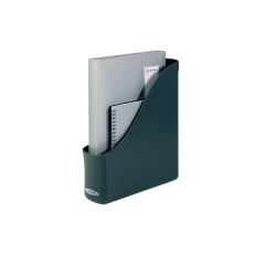 Rexel Agenda2 (A4) Magazine Rack (Charcoal) with File Finger-pull Image