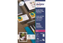 Avery C32016-25 Colour Laser Business Card (Pack of 250)