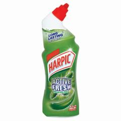 Harpic Active Fresh (750ml) Toilet Gel Cleaner (Mountain Pine) Image