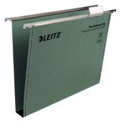 Leitz Ultimate (A4) Suspension File with Tabs Inserts 30mm (Green) Pack of 50 Image