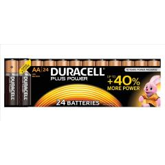 Duracell Plus Power (AA) Batteries (Pack of 24 Batteries) Image